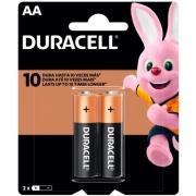 Pilha Alcalina AA Duracell (Blister C/2) - 1010672