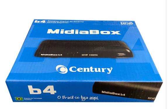 Antena Parabolica Century 1,70metro + Multiponto + Midiabox B4 + Cabo 15metros
