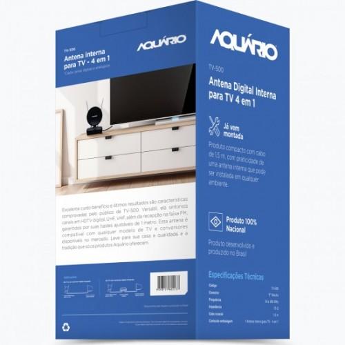 Antena TV Interna Digital TV-500