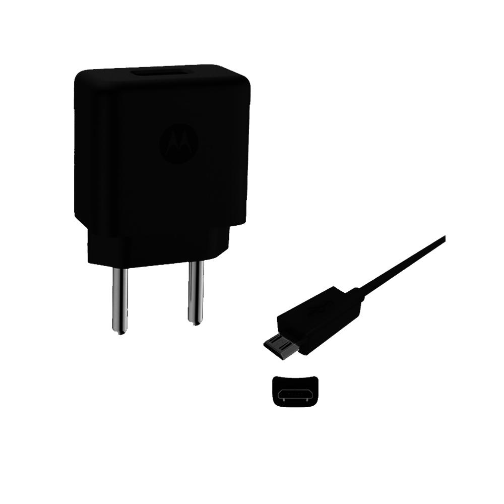 Carregador Celular Motorola Turbo Power 10W Cabo Micro USB V8 Original