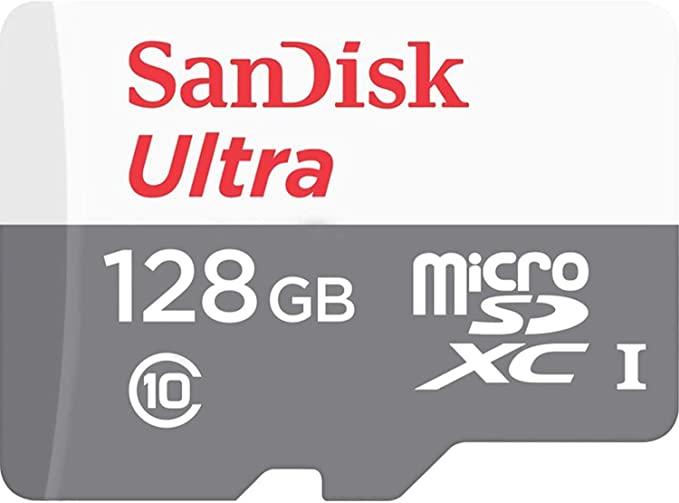 Cartão de Memória Micro Sd Sandisk Ultra 128GB