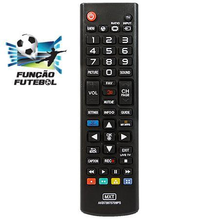 Controle TV LG 3D_Futebol AKB73975709PS