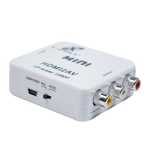 Mini Conversor Hdmi Para AV Rca