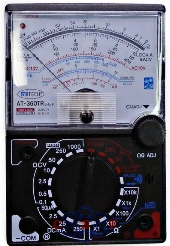 MULTIMETRO ANALOGICO AT-360TRe-L-B 20 MEGA 1000V