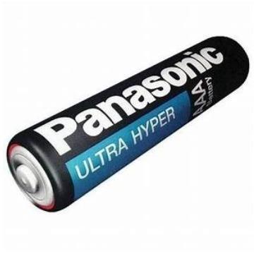 PILHA PANASONIC AAA TUBO COM /40 PILHAS R03UAL / 4S40