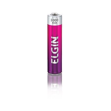 Pilha Recarregavel Elgin AAA 1000Mah - blister com 2 unidades 82170