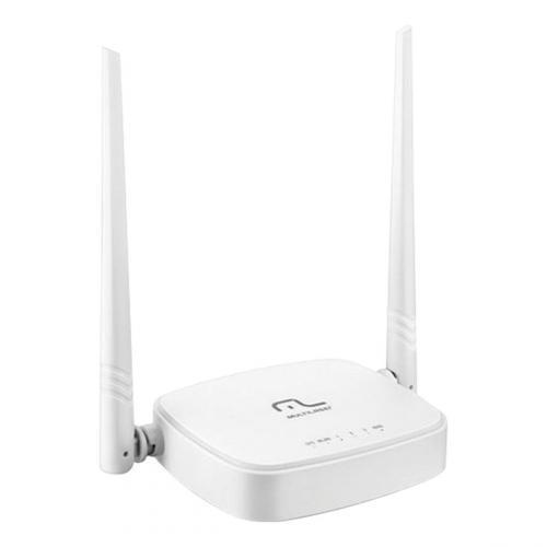 Roteador wireless Multilaser 300mbps ipv6 com 2 antenas 5dbi re160v