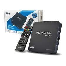 Smart box 4k Android Proeletrônic prosb-2000