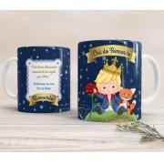 Caneca de Cerâmica Personalizada - Pequeno Príncipe