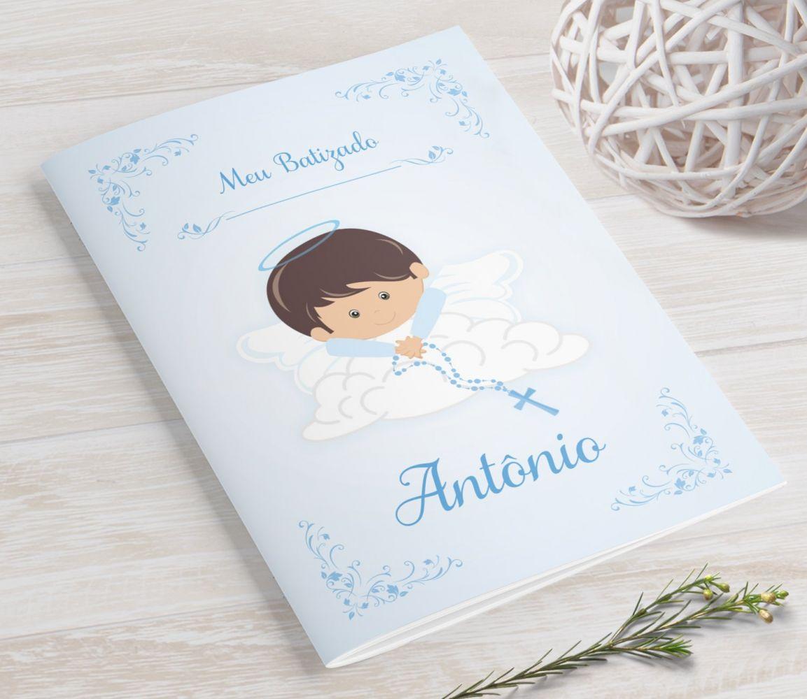 Livrinho de Orações MINI - Anjinho na Nuvem