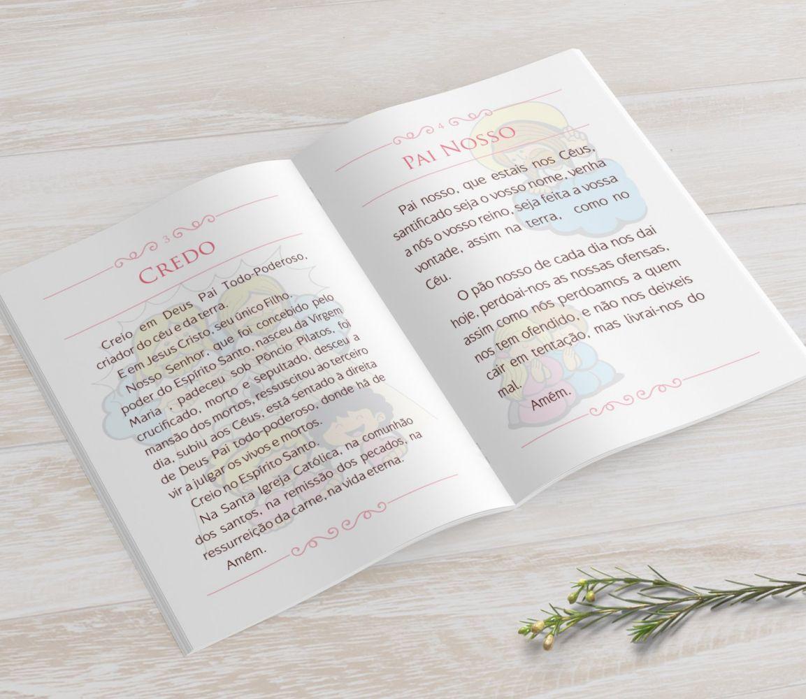 Livrinho de Orações - Cálice Rosa