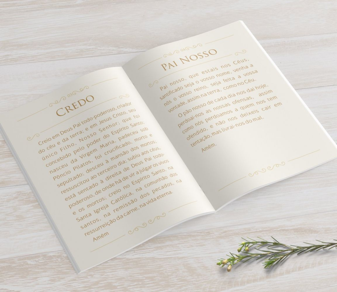 Livrinho de Orações - Cálice Tiffany