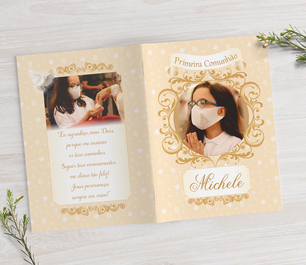 Livrinho de Orações com Fotos - 10x7 cm