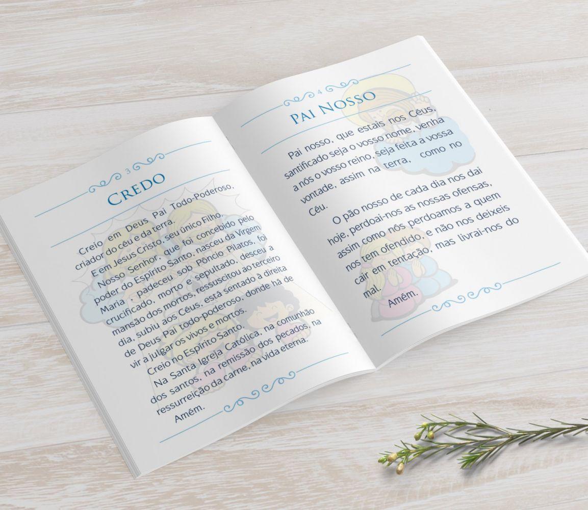 Livrinho de Orações - Cálice Azul