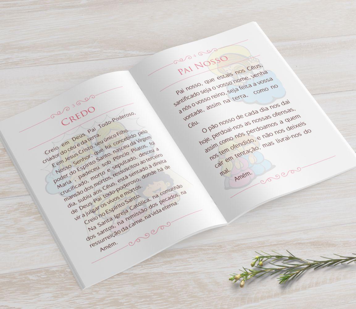 Livrinho de Orações MINI - Anjinha na Nuvem