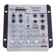 Mesa Som 5 Canais Áudio Ll Nca Nanomix 502r Bt/usb