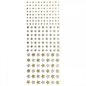Adesivo Glitter Toke e Crie - Ref. 15303 - Mini Estrelas