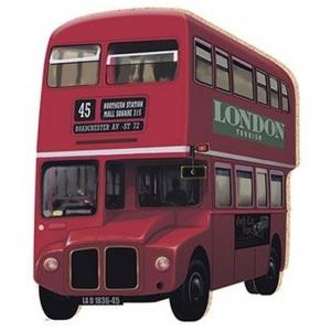 Aplique Litoarte Ref.Apm8-091 - Ônibus London