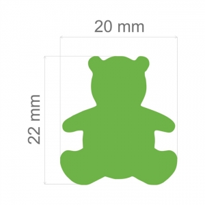Furador Artesanal  Jumbo Toke E Crie Ref.5762- Urso