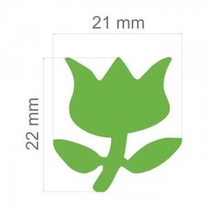 Furador Artesanal  Jumbo Toke E Crie Ref.5768- Tulipa
