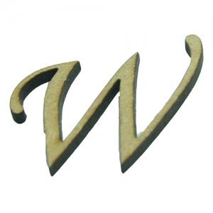 Letras laser maiúsculas - Fonte Monotype Corsiva - 2 cm de altura