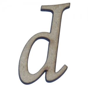 Letras laser minúsculas - Fonte Monotype Corsiva - 2 cm de altura