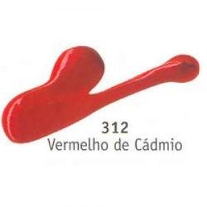 Patina Cera Acrilex 37Ml 312 Vermelho De Cadmio