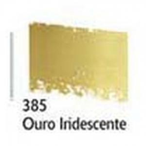Patina Cera Acrilex 37Ml 385 Ouro Iridescente