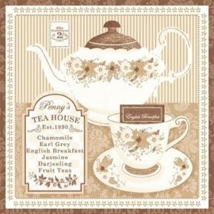 Pct. De Guardanapos 15 Un. Ref. 13306276 - Tea Time Brown