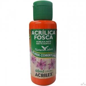 Tinta Acrílica Fosca Acrilex 60Ml - Laranja