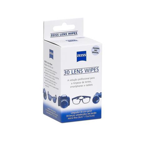 Lens Wipes Zeiss c/ 30 Lenços Umedecidos