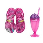 Sandália Grendene Barbie Milkshake