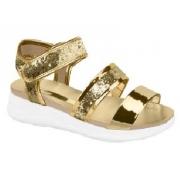 Sandália Maxi Glitter Dourado