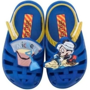 Sandália Mickey Grendene Azul