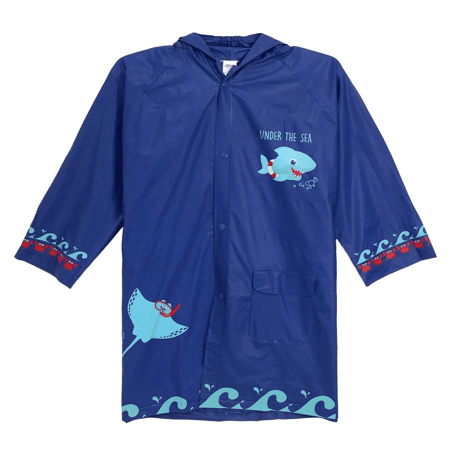 Capa De Chuva Azul Marinho
