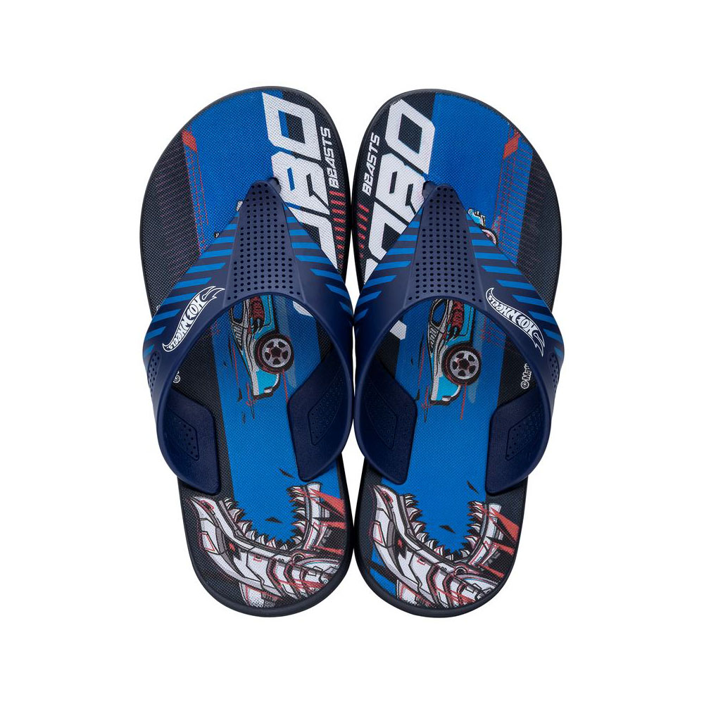 Chinelo Hot Wheels Race Super Flop