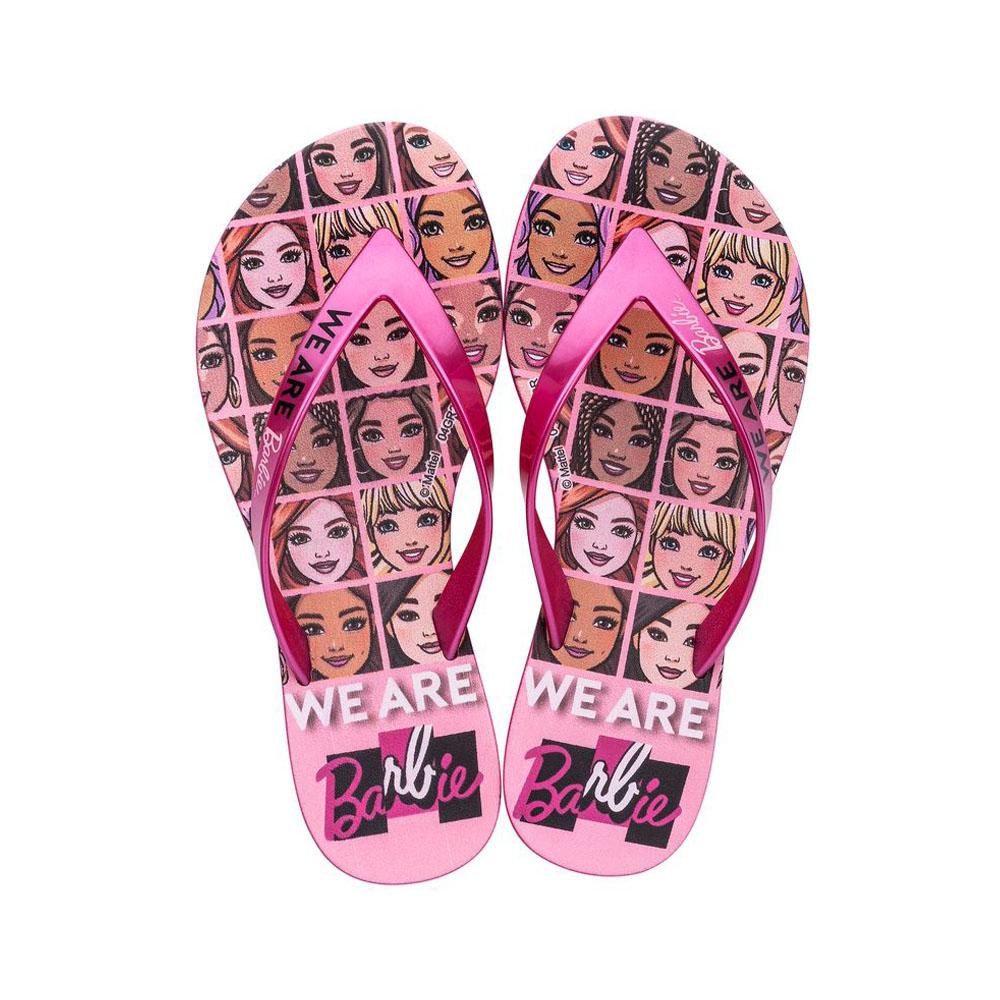 Chinelo Ipanema Barbie Faces