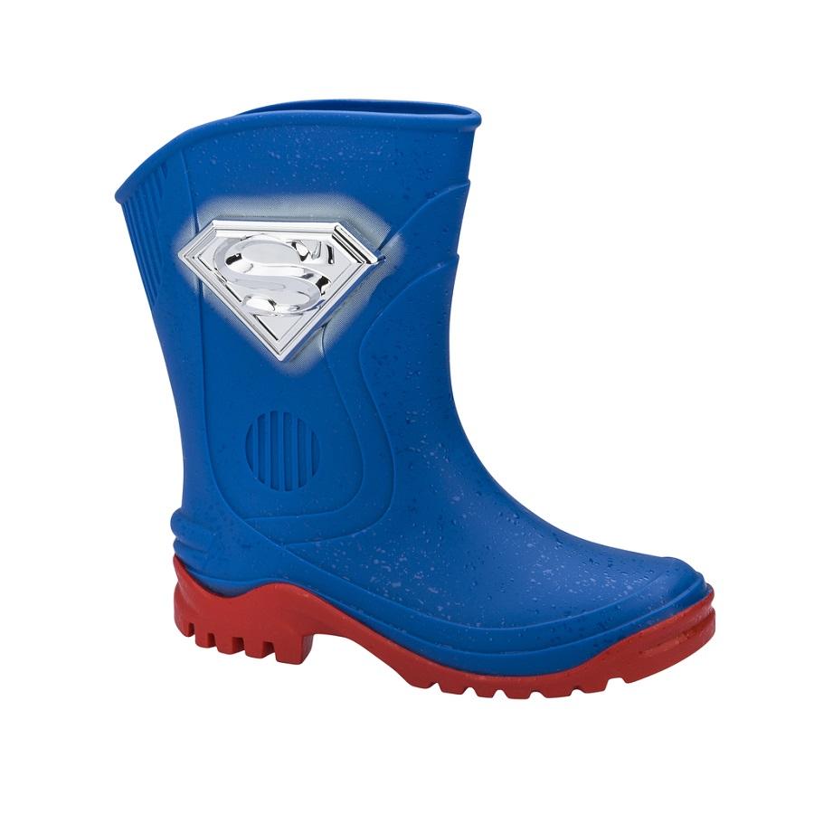 Galocha Superman Grendene Azul