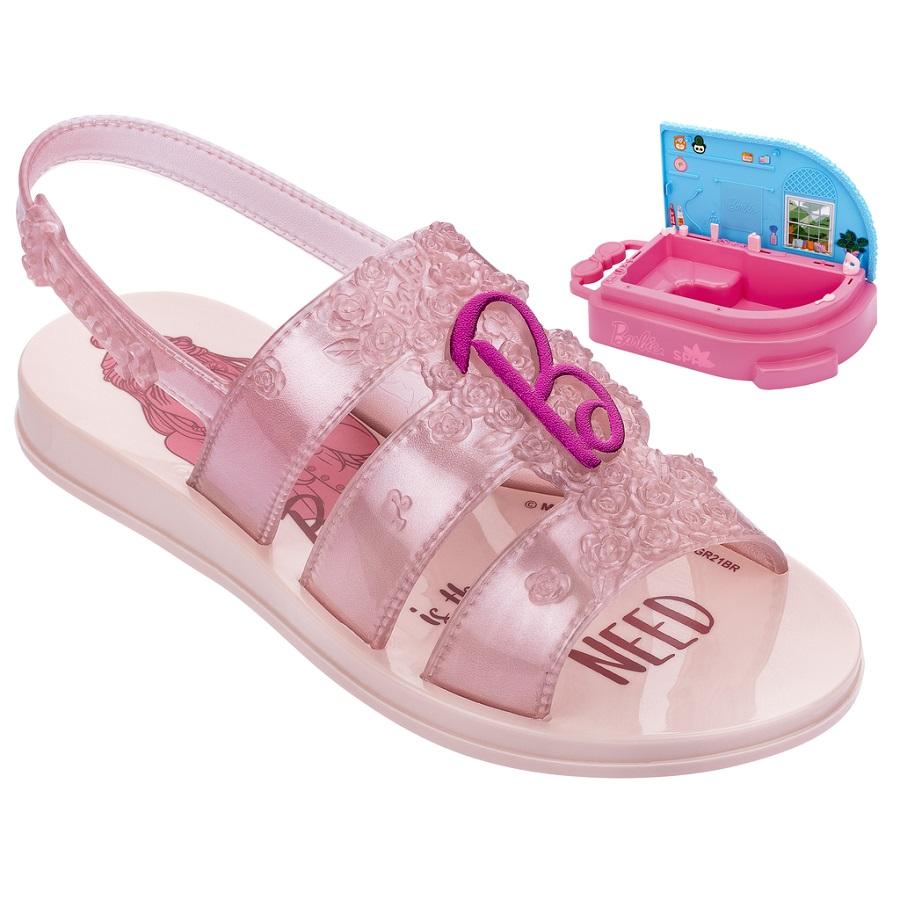 Sandália Barbie Spa
