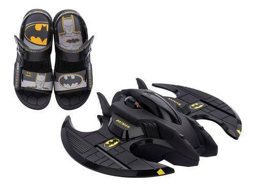 Sandália Grendene Batman Batwing