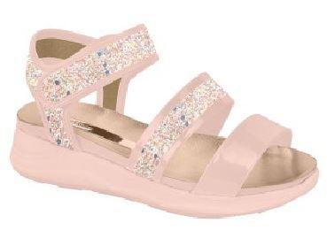 Sandália Maxi Glitter Rosa