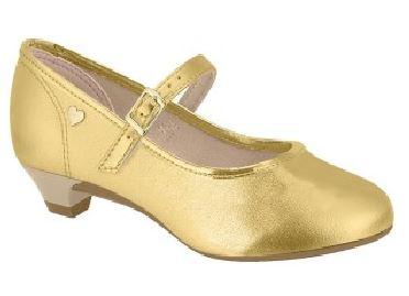 Sapato Infantil Verniz Salto Molekinha