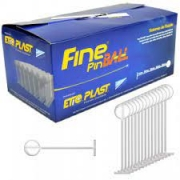 Pino Fine Pin Ball 15mm - Neutro Caixa c/ 5000 un