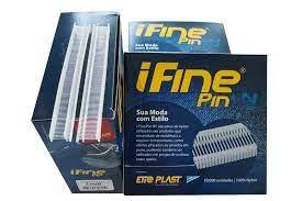I Fine Pin 11mm - Neutro Nylon Caixa c/ 10000 un