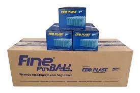Pino Fine Pin Ball 30mm - Neutro Caixa C/ 50000 un
