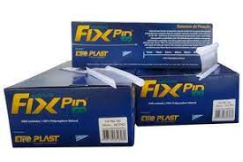 Pino Fix Pin 100 40mm - Neutro Caixa c/ 5000 un