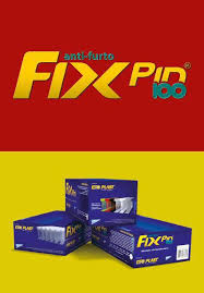 Pino Fix Pin 100 60mm - Neutro Caixa c/ 5000 un