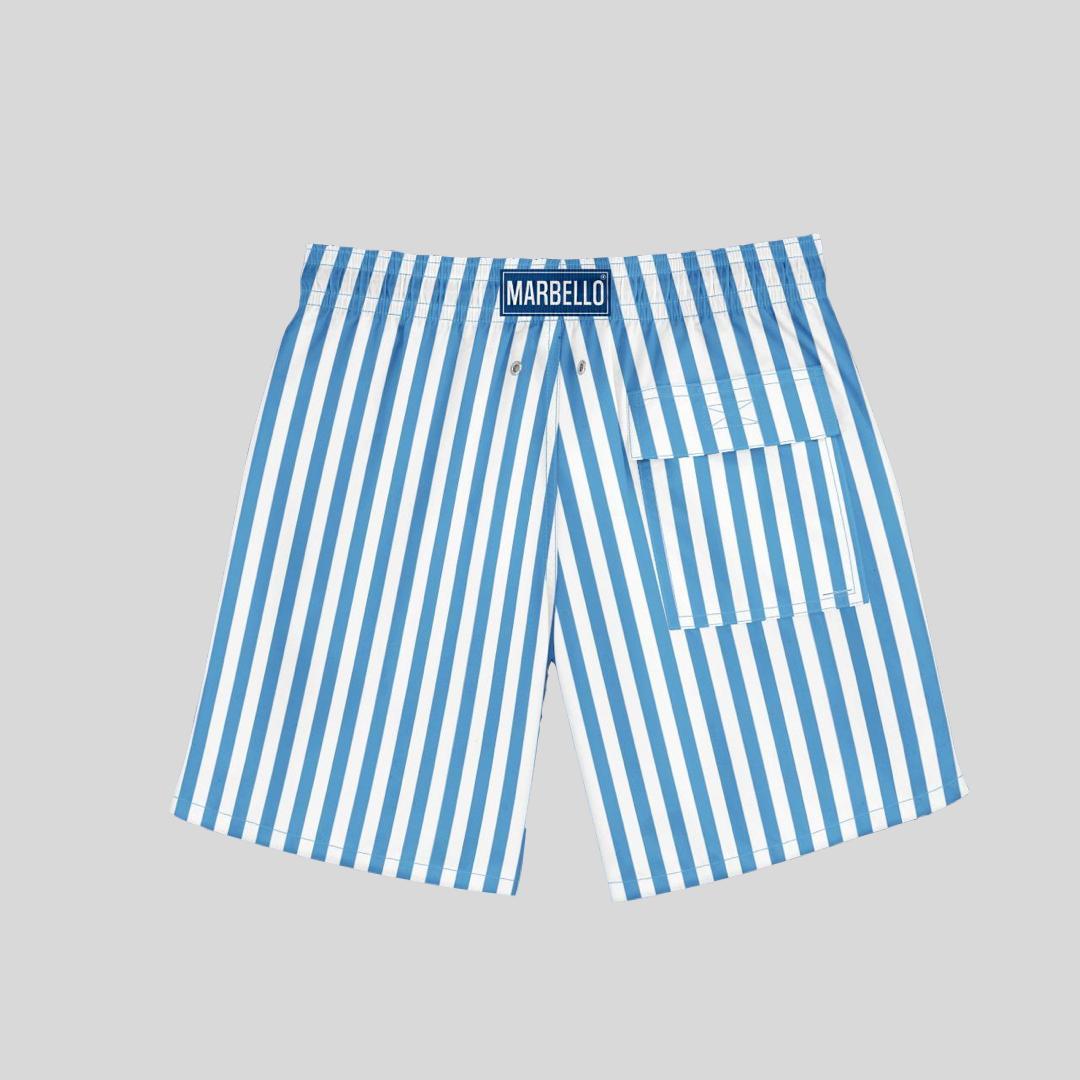Short Stripes Azul
