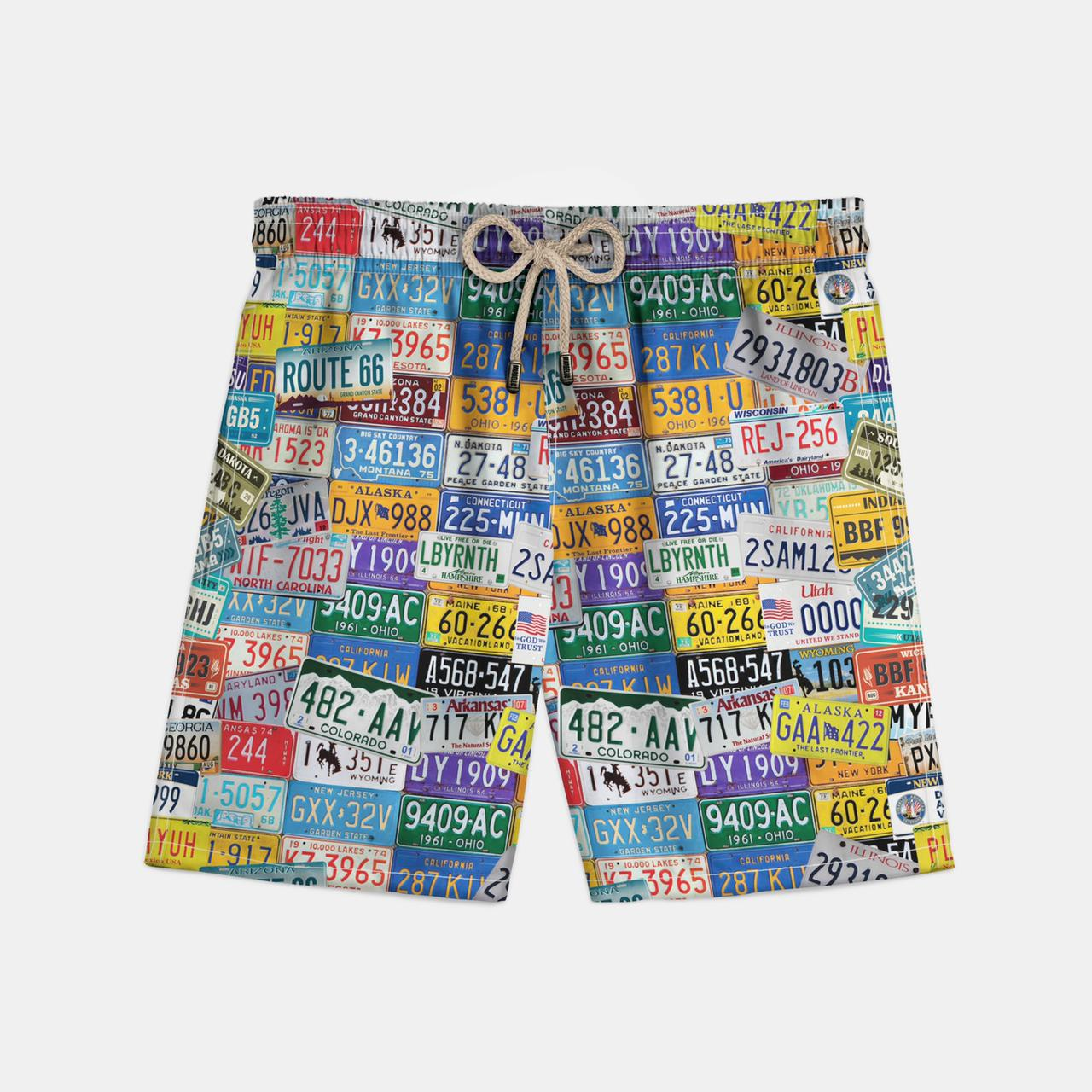 Shorts American Plates