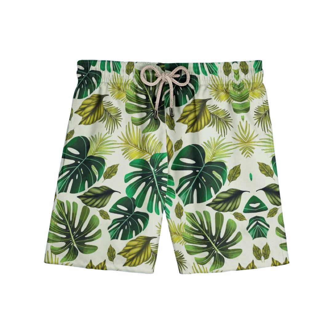 Shorts Folhagem